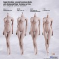 [입고완료/즉시배송][TBLeague(PHICEN)][S01A/S04B/S07C/S10D] 1/6 Super Flexible Female Seamless Body (Pale Color Ver.) l 슈퍼 플렉시블 심리스 여성 바디 (Pale 컬러 버전)